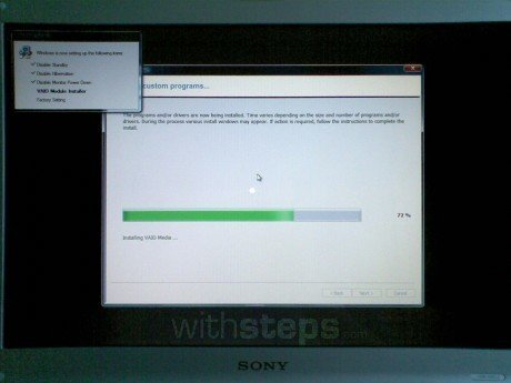 Restore a Sony Vaio PC to its factory settings | withsteps com