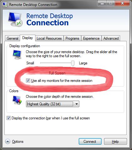 use multiple monitors in remote 02