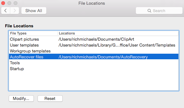 Word Is Unable To Save The Autorecover File In The Location You